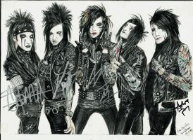 Black Veil Brides (signed) by ShadowofChaos666