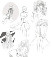 sketches (anatomy practice) by nada222