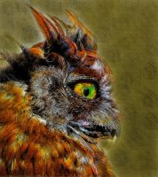 Owl by LindArtz