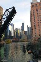 A Look Down the Chicago River by gcdxphoto