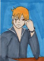 Kyo Sohma ATC by anne-t-cats