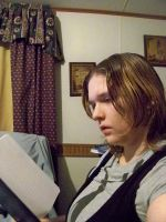 Me reading my Death Note by naruto6393