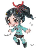 Vanellope by chalii
