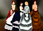 Of Slave Maids and Ladies by bustlebondage