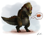 Deviljho is Hungies by Dargonite