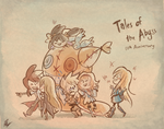 Tales of the Abyss 10th Anniversary by PhuiJL