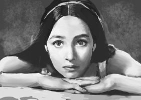 Olivia Hussey Sketch by Wkailiao
