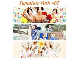 Signature Pack #07 by Leelinhhhh