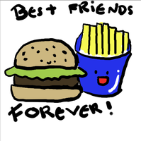 Best friends FOREVER!! by Ueggeu