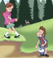 I Gravity Falls-ed by Limelight-Night
