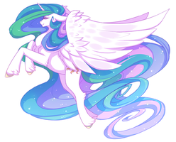 CELESTIAL MONARCH by Morguesque