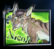 2013 Con Badge by Nicay