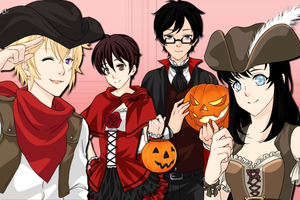 Happy Ouran Halloween by SweetStar17
