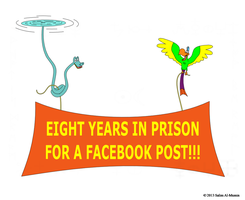 Eight Years In Prison For A Facebook Post!! by IAmTheUnison