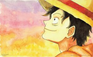Monkey D. Luffy by Shashi92