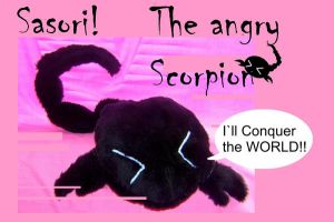 Sasori the angry scorpion by Laia-pink