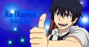 Rin Okumura Wallpaper by AwesomeDuskAngel