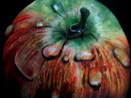 Experiments with oil pastels by HarringtonCreativity