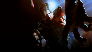 Resident Evil 6 - Leon and Helena Wallpaper by shulaii