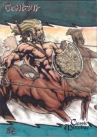 Centaur Sketch Card - Nestor Celario Jr. by Pernastudios