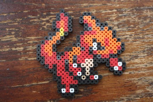 #005 Charmeleon (Mini) by Puppylover5