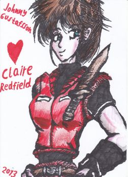 Love Claire Redfield by Skenberg