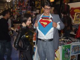 Clark Kent and Wasp by pikaman206