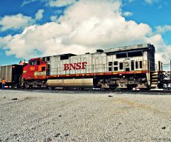 BNSF 768 Dash 9 by SMT-Images