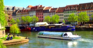 A Day in Strasbourg - Tiltshift NEW VERSION by Cloudwhisperer67