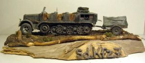 SD.KFZ 7 by Makingscalemodels