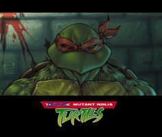 A Mutant Ninja Turtle by Lecap