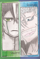Uliquorra and Grimmjow by ButterlyXXI