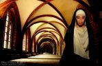 The Smiling Nun by aeoifasaoirse