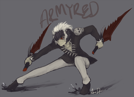 ArmyRed - commission by AnneDyari