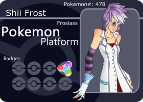 Shii Frost - Battle Card 2.0 by Quco