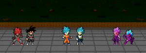 Team Goku vs Team Vegeta by Nightboss77