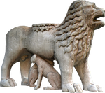 Statue Lion png 1 by Sergiba