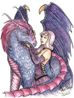 The Dragon Lady by Songes-et-crayons
