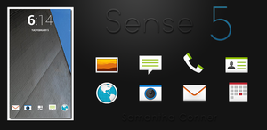 Sense 5 Launcher Theme by sammyycakess