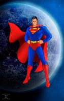 The Man of Steel by willmottram