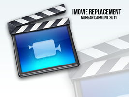 iMovie Replacement Icon by morgcar