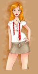 Ginny Weasley ver.2 by moutarde