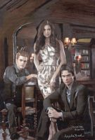 Vampire Diaries 1 by sketchychick