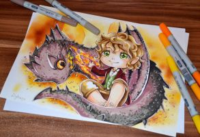We love Smaug! by Lighane