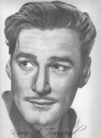 Errol Flynn by Karentownsend
