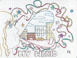 My World by Notebook-Queen