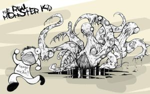 The Real Monster Kid by tomaslalala