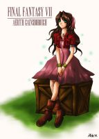 Aerith Gainsborough by Allisha-V