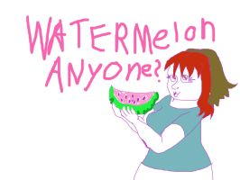 Watermelon? for tumblr by Lady-ALTernate
