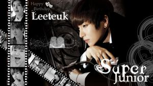 Happy Birthday Leeteuk by SNSDLoveSNSD